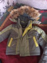 Продам зимовий комбінезон та куртку