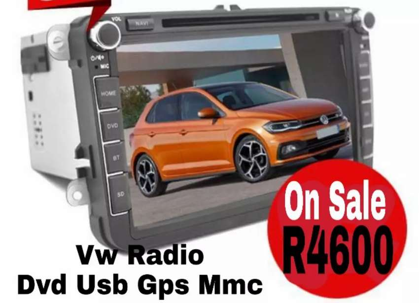 Vw Car Radio Brand new Gps Dvd 0