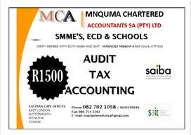 AUDIT, ACCOUNTING AND TAX