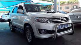 TOYOTA FORTUNER 3.0 D4D 4X4