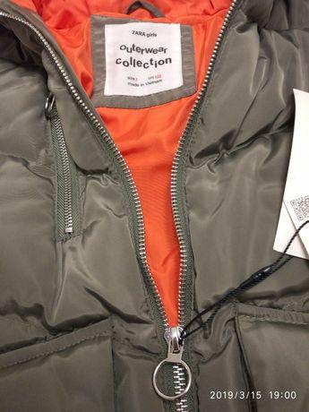 Демисезонная курточка для девочки Zara Днепр - изображение 2