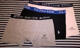 Трусы мужские боксеры Polo Club (Поло) оригинал качество супер