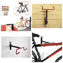 Крепление на стену для хранения велосипеда горизонтально за раму,крюк