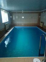 Сауна и большой бассейн