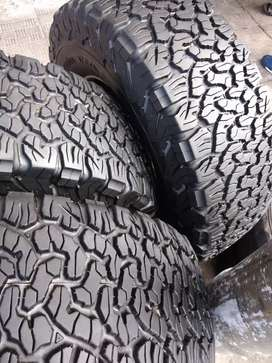 A set of tyres sizes 285/70/17 bfgoodrich ko2 now available