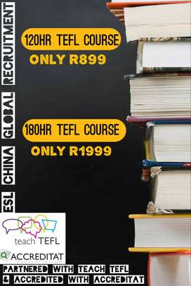 Accredited TEACH TEFL ONLINE COURSES