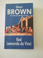 Książka Kod Leonarda da Vinci Dan Brown