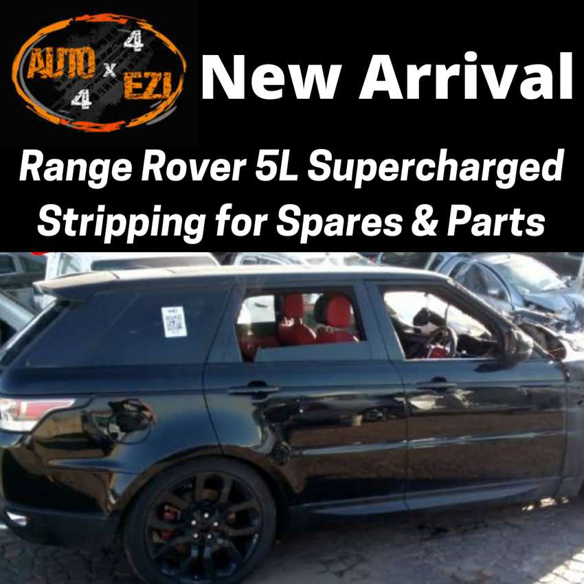 Range Rover 5L Supercharged Stripping for Spares