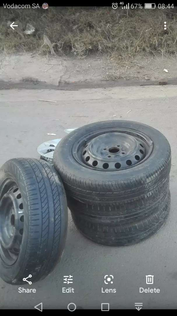 """14"""" rims nd tires"""