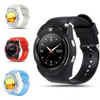 Новые, умные Cмарт часы телефон Smart Watch V8 + подарок опт розн