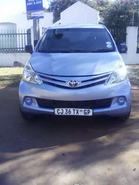 Toyota Avanza 1.5 R 115 000 Negotiable