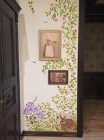 Роспись стен, картины на заказ, роспись интерьера, one stroke