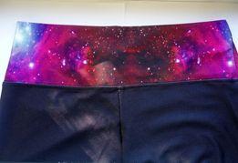 Классные лосины леггинсы космос, галактика