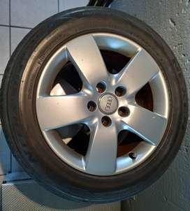 Audi 5/112 oem 16 rims and tyres