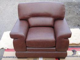 Продам новое кожанное мягкое кресло пр-во Малазия
