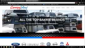 New and used canopies for all brand of bakkies