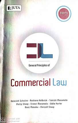Unisa textbooks- Commercial law
