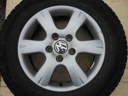 4 Koła letnie VW T5, aluminiowe 215/65 R16 C