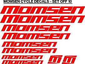 Momsen bicycle frame stickers decals kits