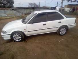 Selling 2002 Toyota corolla, daily runner