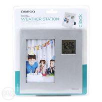 cyfrowa stacja pogody z ramką na zdjęcia