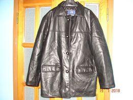 Кожаная мужская куртка-пиджак производство Италия