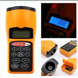 Ultrasonic Distance Meter with Backlight