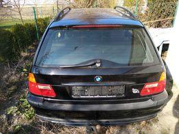 Części BMW E46 318d 2002 Klapa tylna, drzwi, wnetrze, silnik i inne