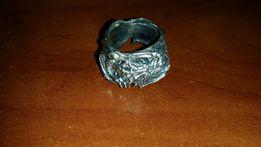 "Перстень ""Дракон"", серебро, ручная работа на заказ"