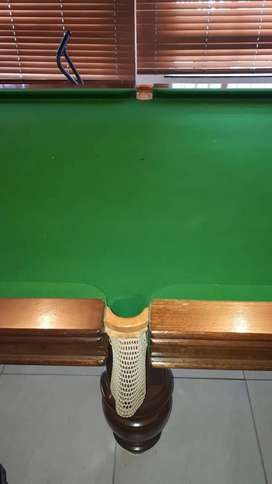 3/4 Snooker table for sale