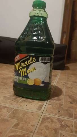 Dishwashing liquid .. Miracle mom for sale super cheap