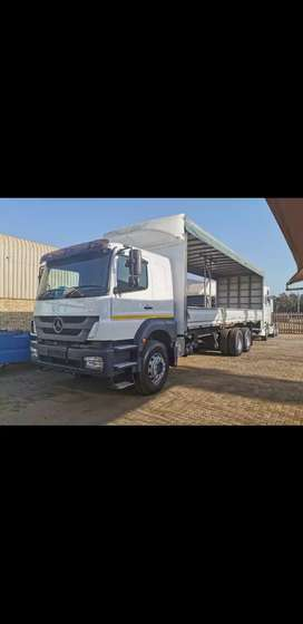 Mercedes Benz Axor Tautliner/Dropside