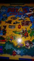 Atlas Polski- puzzle