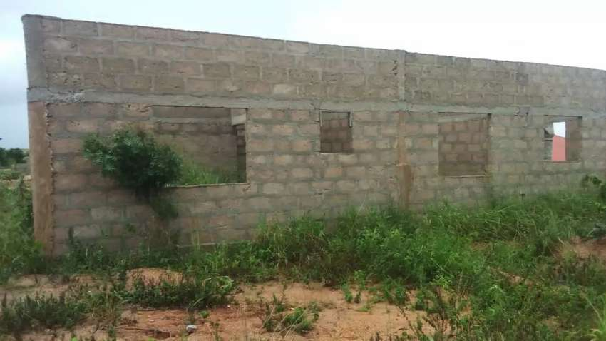 Incompleted two bedrooms S/C for sale in Kasoa 0