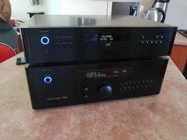 Rotel RSP 1570 Processor and Rotel RCD 1520 CD Player for Sale.