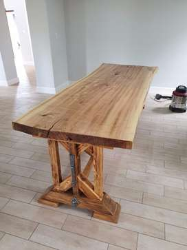 Hardwood tops,Tables and Slabs