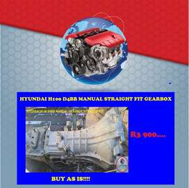 IMPORTED SECOND HAND HYUNDAI H100 D4BB STRAIGTH FIT GEARBOX