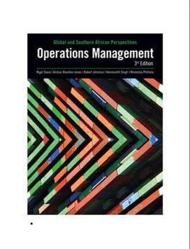 Operations  Management 3rd edition