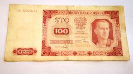 Banknot, banknoty - 100 zł 1948 ładny stan