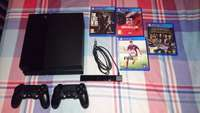 Image of R5,800.00 - PS4 500gb, 2 Dualshock 4 Controllers, PS4 Camera + 4 Games