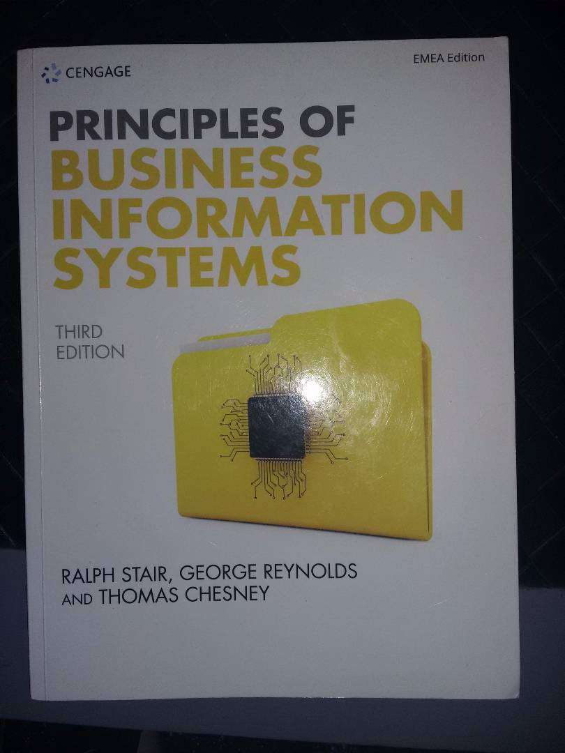 Study Book Principles of Business  Information Systems 0