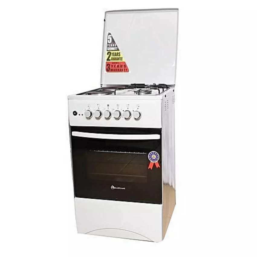 BLUEFLAME 2 ELECTRIC 2 GAS COOKER & OVEN  NEw 0