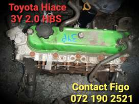Toyota Hiace 3Y 2.0carb Engine For Sale