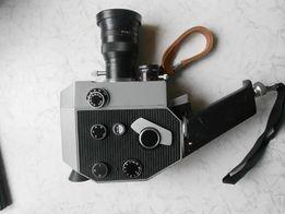 Колекционная видеокамера QUARZ-ZOOM DS8-3, механическая заводка
