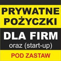 Prywatne Pożyczki Dla Firm Pod zastaw