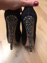 Casadei туфли замшевые