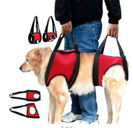 Dogs Front & Read Care Lifting Harness Red (L)