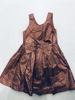 Next j. H&M świąteczna sukieneczka Z kokardą 7 lat