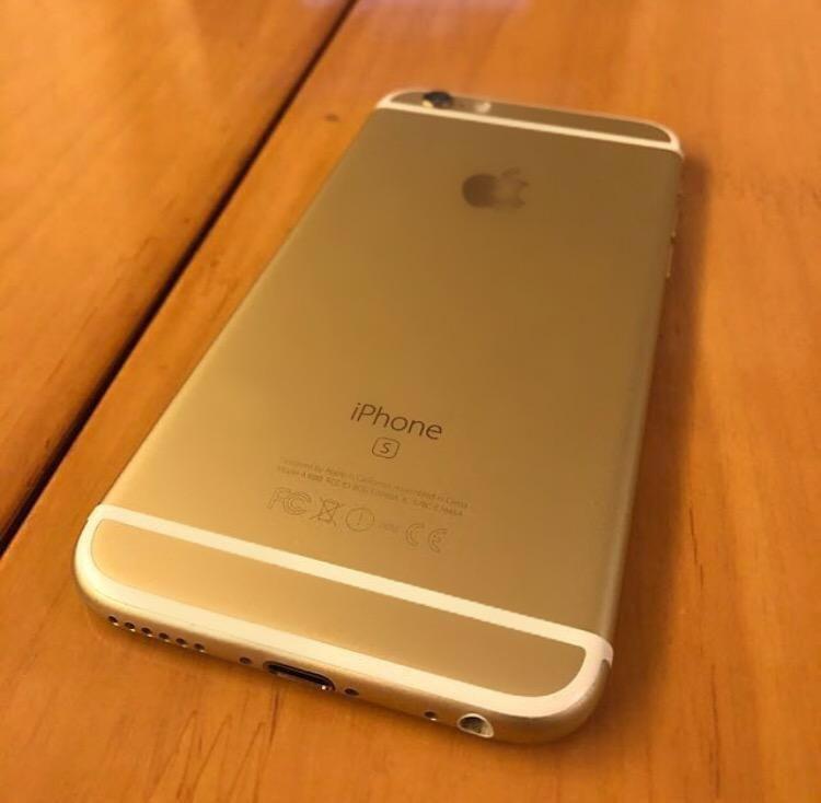 iPhone 6S gold 64gb 0