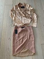 Patrizia Pepe bluzka i spódnica